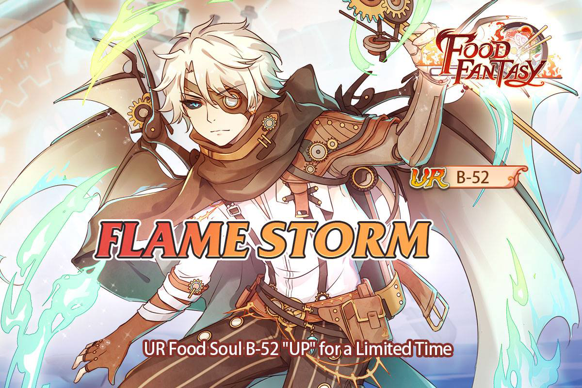 Banner-Flame Storm