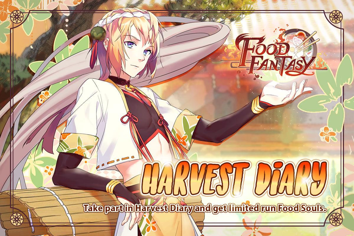 Banner-Harvest Diary (Soba)