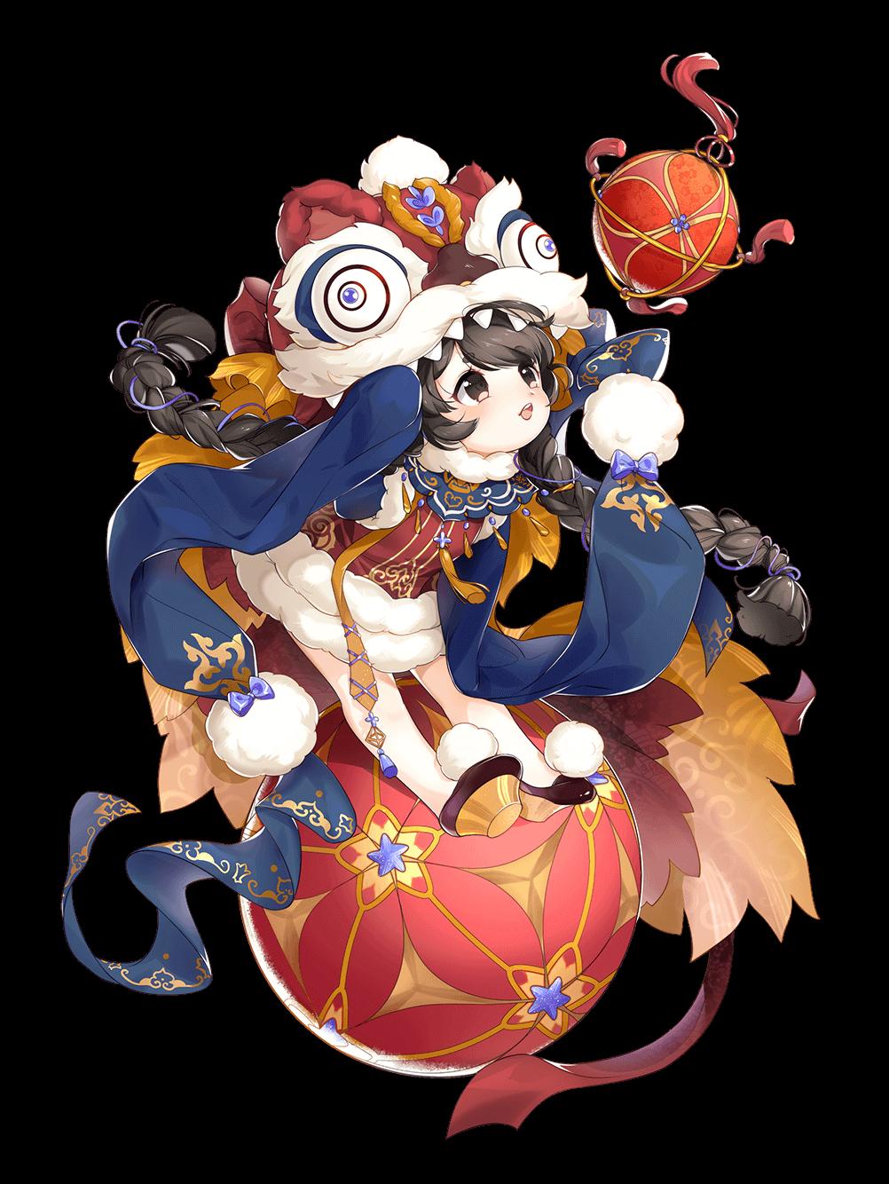 Skin-Tangyuan-Lion Dancer