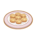 Dish-Peanut Crisp