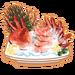 Dish-Crab Sashimi