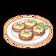 Dish-Steamed Mushrooms
