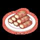 Dish-Bacon Tofu Wrap