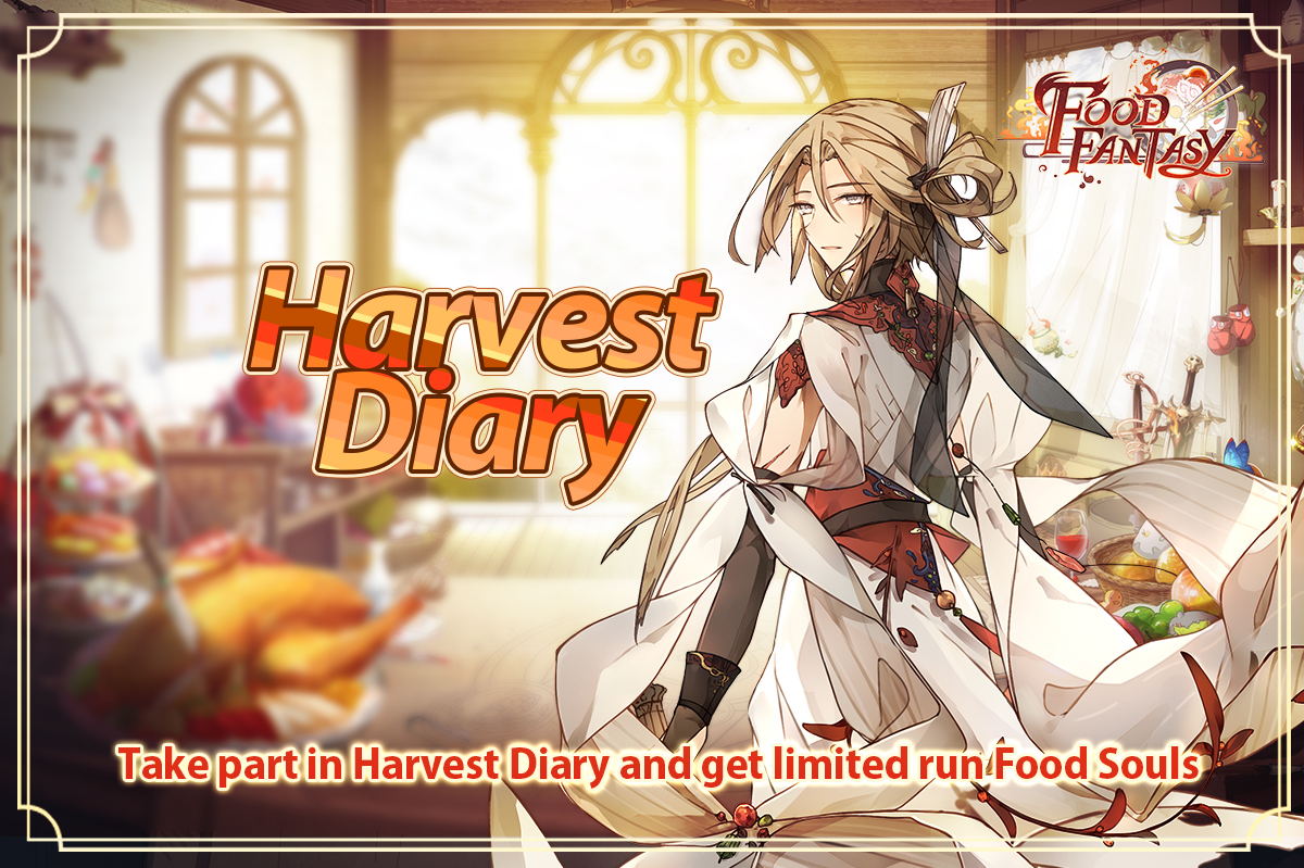 Banner-Harvest Diary (Laba Noodles)