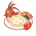 Dish-Garlic Lobster