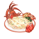Dish-Garlic Lobster