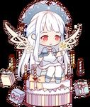 Sprite-Fondant Cake