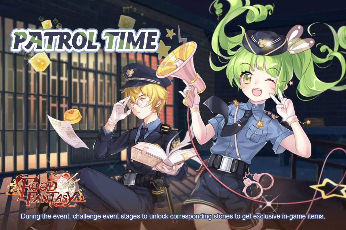 Banner-Patrol Time