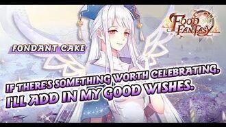 Food Fantasy- Warm - Fondant Cake