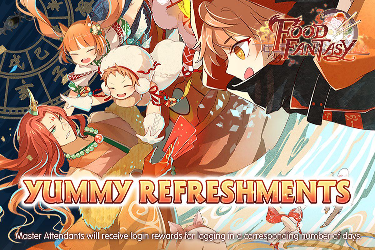 Banner-Yummy Refreshments