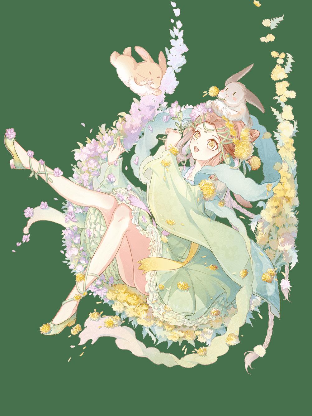 Skin-Moon Cake-Flower Power