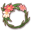 Souvenir-Flower Wreath