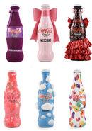 Coca-cola light designer bottles tribute to fashion 2012