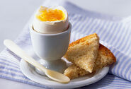 Getty rm photo of boiled egg