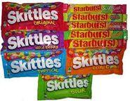 Skittles Vs. Starburst