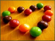 Skittles Heart