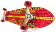 Skittle Skateboard