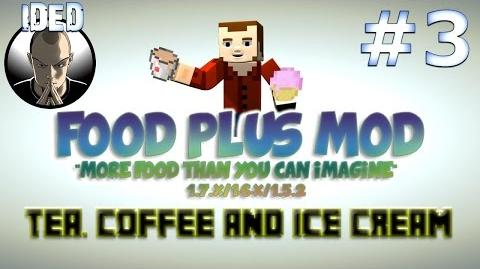 Food Plus Mod Tutorial - Tea, Coffee and Ice Cream - Minecraft Mod
