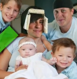 Anthony and his childrens