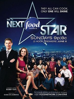 Next food network star poster