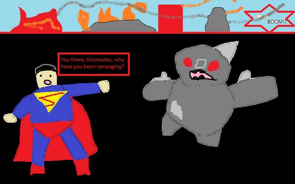 Injustice comic panel 9