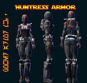 Huntress Armor