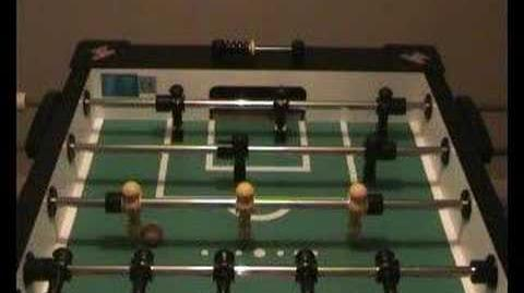 Foosball Pull Kick Demonstration