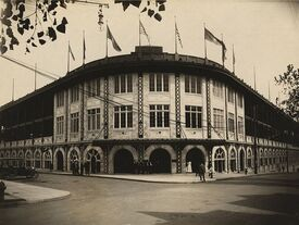 Forbes Field exterior