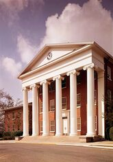 Lyceum Building University of Mississippi LOC HABS 572258