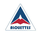 Montreal Alouettes old triangle logo