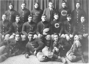 1911 Carlisle Indians FB team