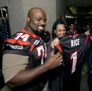 Presentation of Canadian Football League Team Jersey