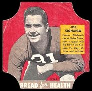21 Joe Signaigo football card