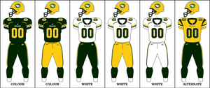 CFL EDM Jersey Combinations
