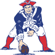 New England Patriots logo old svg