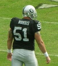 Chris Morris at Falcons at Raiders 11-2-08.JPG