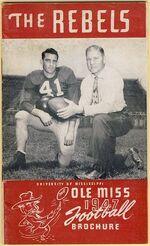 1947 Ole Miss football media guide