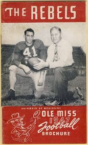 1947 Ole Miss football media guide