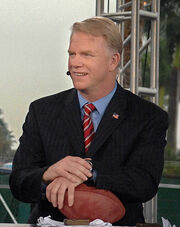 Boomer Esiason at Super Bowl XLI pre-game show in Miami