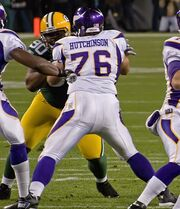 Steve Hutchinson and B.J. Raji