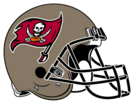 Tampa Bay Buccaneers helmet rightface