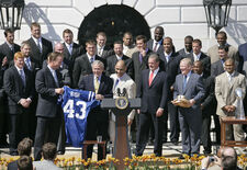 Bush Congratulates 2006 Colts