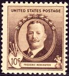 Frederic Remington 1940 Issue-10c