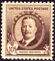 Frederic Remington 1940 Issue-10c