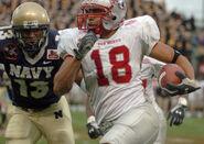 2004 Emerald Bowl Navy-New Mexico run