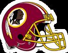 Washington Redskins helmet rightface