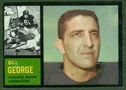 22 Bill George football card