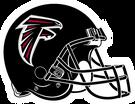Atlanta Falcons helmet rightface