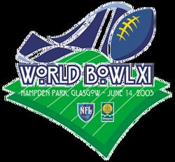 World Bowl XI logo