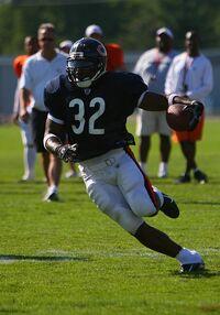 Cedric Benson in 2007
